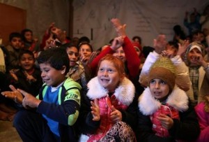 Syrian Refugees-Shoestring Education